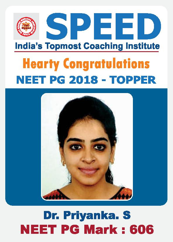 NEET PG Toppers Images